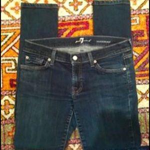 Size 29, 7FAM Roxanne Skinny Jeans